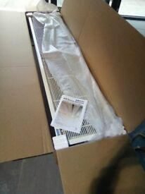 2 AIR BLOCK ACR RECESSSED AIR CURTAINS , 1 UNIT 2M , 2ND UNIT 1M . BOTH UNITS BRAND NEW STILL BOXED