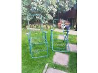 Reclining chair frames