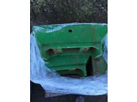 John Deere Tractor Weights - 110kg Each
