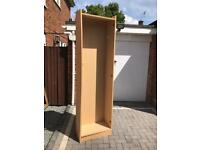 large bookcase wardrobe or shoe storage (2 available) nearly 7ft tall