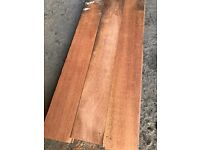 Reclaimed Brazilian Mahogany Flooring - 200 m2 in stock!