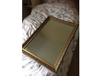 Large (approx 4ft x 2ft) wall mirror