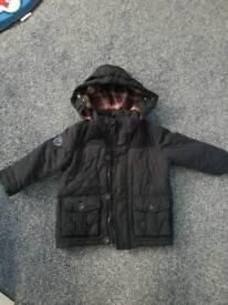 Boys 18-24 months old coat