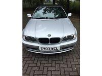 BMW 3 Series 2.2 320Ci 2dr CONVERTIBLE (LONG MOT and SUPER CLEAN)