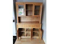 Solid Oak furnitureland Display Cabinet for sale  Brough, East Yorkshire