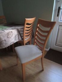 Table & Four Chairs