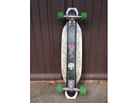 Original Apex 37 Longboard Skateboard Loaded with the best parts