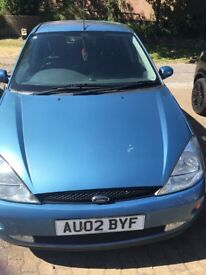 Ford Focus 1.6 zetech for sale