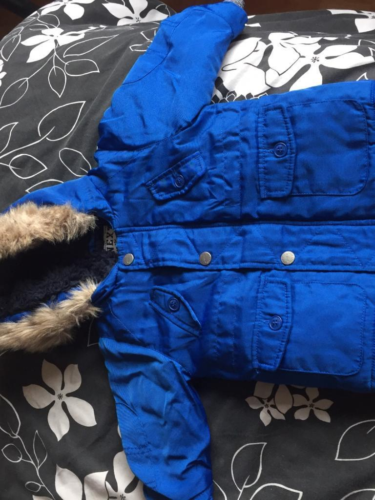 New boys age 9-12 months Next winter coat (no tags)