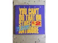 Frank Zappa - You Can't Do That On Stage Anymore Vol. 2 (The Helsinki Concert) 3LP 1988