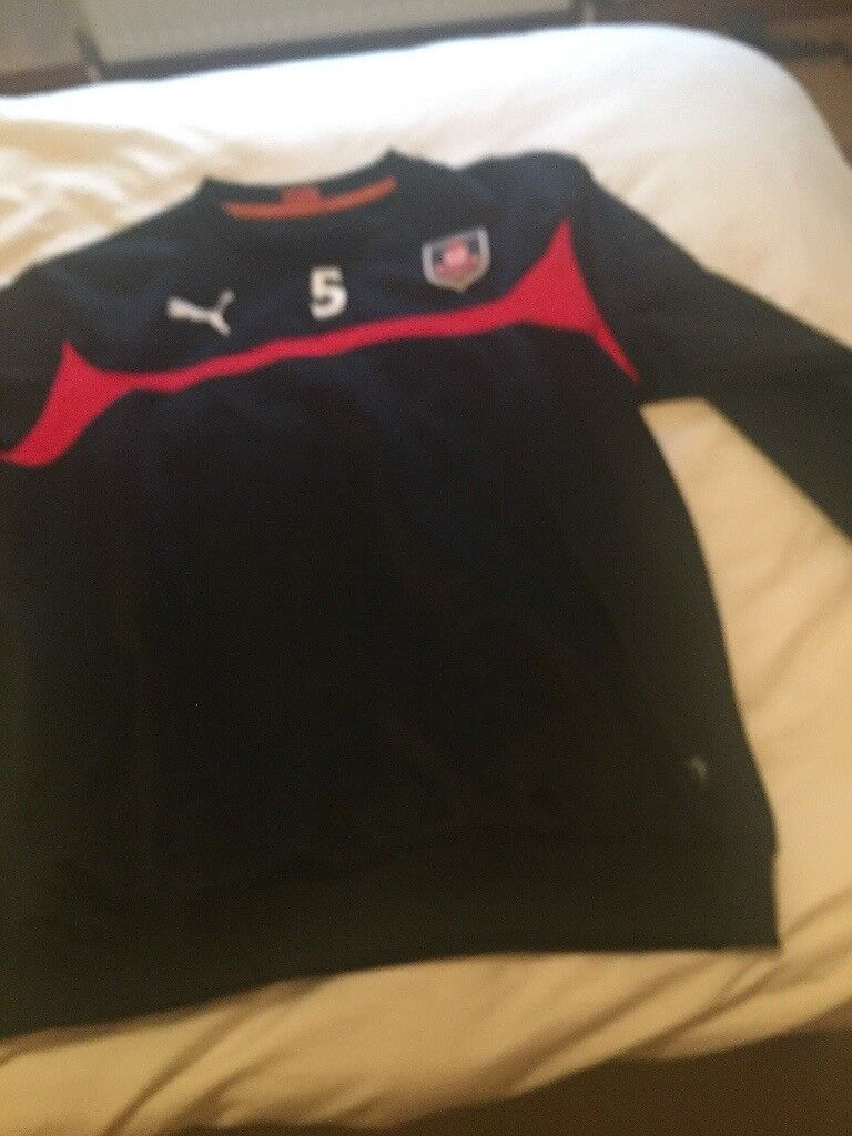 109a4200c97 Airdrieonians F.C. puma training top size men s xl £10. Airdrie ...