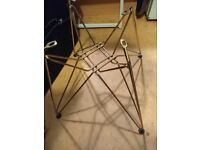Gold retro stand for coffee table or side table