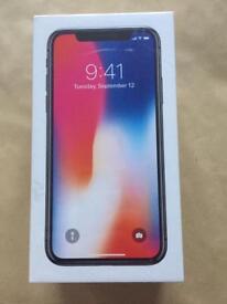 Brand New IPhone X 64Gb Space Grey