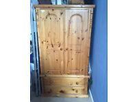 A bargain beautiful wooden wardrobe