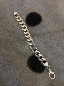Man bracelet 925 70g