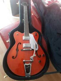 Gretsch hollow body with vibrato