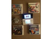 Nintendo 3DS and 4 games