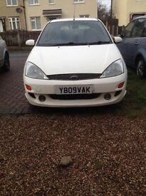 FORD FOCUS 1.8 cobra exhaust fitted *LOOK*