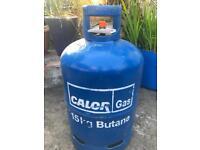 TWO EMPTY 15 kg CALOR Gas bottle