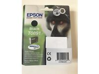 Epson Black Ink T0891 -Monkey