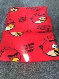Angry bird curtains