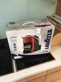 Lavazza a modo mio jolie coffee machine New RRP60