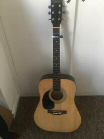 Left handed Falcon acoustic guitar