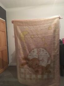 Childs cot /bed cover.