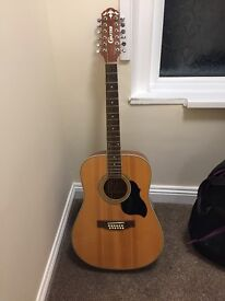 Crafter 12 string acoustic guitar