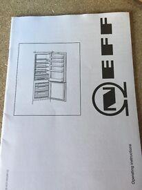 NEFF fridge & freezer