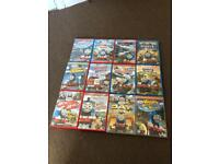 Thomas and friends DVDs