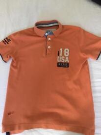 Workwear orange shirt
