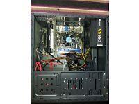 Gaming media PC G3258 H81M o/c 8GB 2Tb GTX 750 barely used