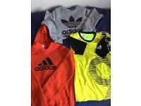 Age 10 to 12 Boys Adidas Tops