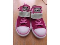 Girls Converse Trainers Size 2