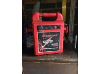 Snap-on battery booster