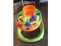 Chicco Walky Talky baby walker - good condition