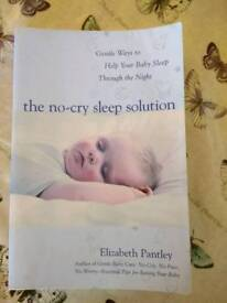 The no-cry sleep solution book