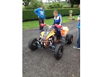 (VERY RARE) Ktm 505 sx 2010 racing quad d