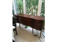 Wooden beautiful sideboard