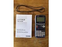CASIO ALMOST BRAND NEW SCIENTIFIC CALCULATOR FX-9750GII