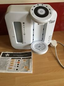 Tommee Tippee Bundle! Prep Machine, Electric and Travel bottle warmers & 2 Insulated bottle bags
