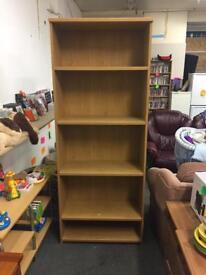 Large Oak Bookshelf