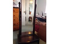 STAG CHEVAL TALL BEDROOM MIRROR
