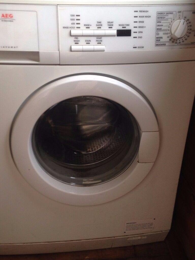 aeg electrolux lavamat washing machine in sutton london. Black Bedroom Furniture Sets. Home Design Ideas