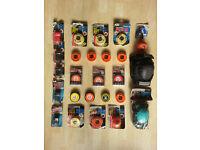 Ice/street/roller hockey gear - shoulder pads, pucks, balls etc