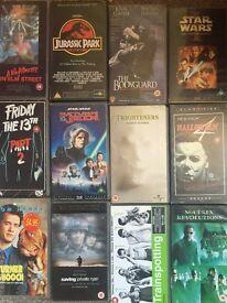 VHS videos multiple items