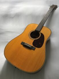 New Martin HD28E Retro Guitar
