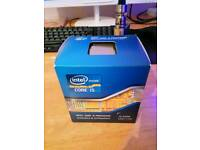 Intel i5 2500 processor with stock cooler