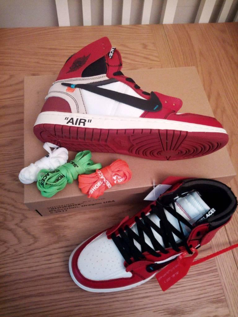 Nike 1 X Jordan Air White Off K1cTlJF